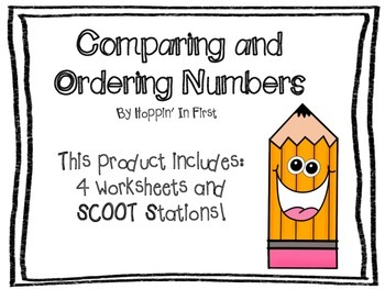 Comparing and ordering numbers worksheets teaching resources comparing and ordering numbers comparing and ordering numbers ibookread Download