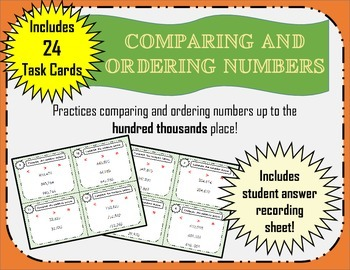 Comparing and Ordering Numbers