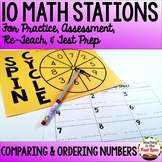 Comparing and Ordering Numbers Stations