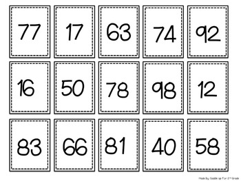 Comparing and Ordering Numbers: A Differentiated Number Center