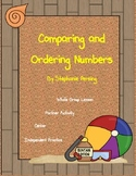 Comparing and Ordering Numbers- Beach Theme