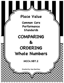 comparing and ordering numbers common core 4th grade place value. Black Bedroom Furniture Sets. Home Design Ideas