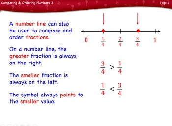 Comparing and Ordering Numbers Lesson 3 Third Grade by Singin' & Signin'