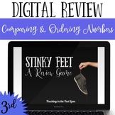 Comparing and Ordering Numbers  Review Game Stinky Feet