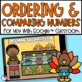 Comparing and Ordering Numbers   Thanksgiving Math    Goog