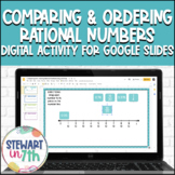 Comparing and Ordering Rational Numbers Digital Drag and Drop Activity