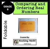 Comparing and Ordering Real Numbers Foldable
