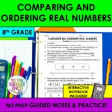 Comparing and Ordering Real Numbers Notes