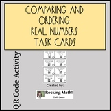 Comparing and Ordering Real Numbers QR Code Task Cards
