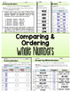 60 Comparing and Ordering Whole Numbers Assessments