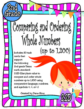 Comparing and Ordering Whole Numbers: Up to 1,200 (TEKS 2.2D)