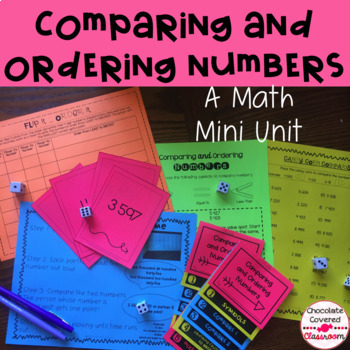 Comparing and Ordering Whole Numbers to 10 000 Mini Unit