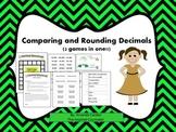Comparing and Rounding Decimals Games