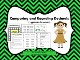 Comparing and Rounding Decimals Games