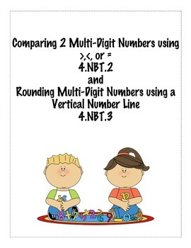 Comparing and Rounding Multi-Digit Numbers:4.NBT.2 and 4.NBT.3