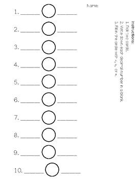 Comparing decimals with a model