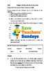 Comparing fiction and non-fiction books Worksheets (2 leve