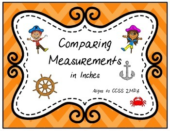 Comparing Measurements in Inches (2.MD.4)