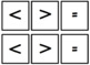 Comparing numbers 1-100 with ,= symbols