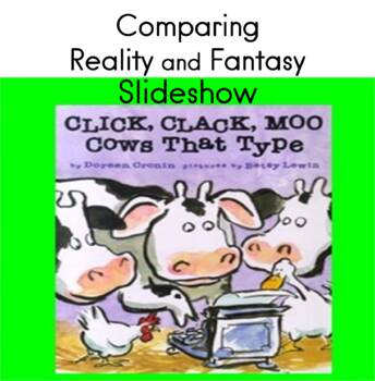 Comparing reality and fantasy Slideshow