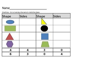 Shapes & Sides