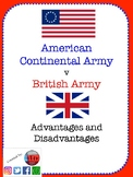 Comparing the American Army & British Army (Advantages & D