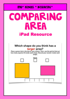 Comparing the Area of Shapes iPad Keynote Resource