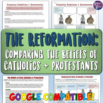 Comparing the Beliefs of Catholics and Protestants