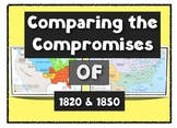 Comparing the Compromises of 1820 and 1850