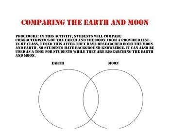 Comparing the Earth and Moon