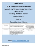 Comparing the Overall Structure McGraw Hill Reading Wonder