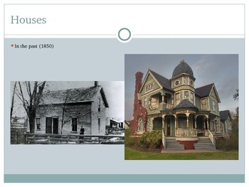 Comparing the Past and Present-Houses