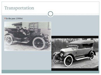 Comparing the Past and Present-Transportation