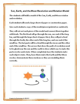 Comparing the Sun, the Earth, and the Moon Science and Literacy Lesson Set NGSS