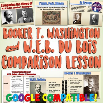 the life and career of web du bois and booker t washington Showing the different perspective of web du bois and booker t washington w e b du bois and washington turbulent career, w e b dubois attempted every.