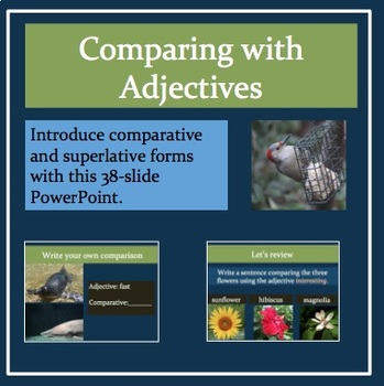 Comparing with Adjectives: Comparative and Superlative Forms
