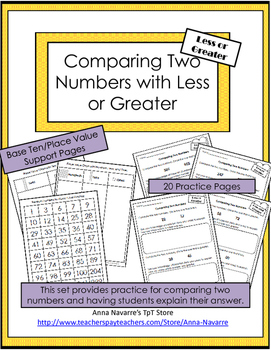 Comparing with Less or Greater