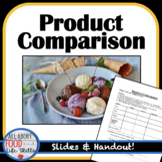 Comparision Shopping- Taste Test Ice Cream!