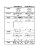 Comparison Arithmetic and Geometric