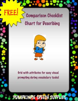 Comparison Checklist Chart