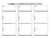 Comparison/Contrast Essay Graphic Organizer