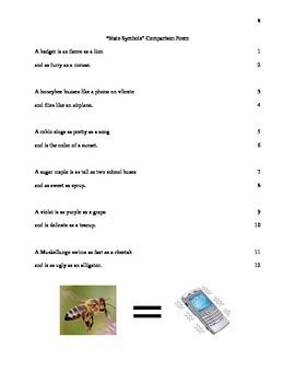 Comparison Poem