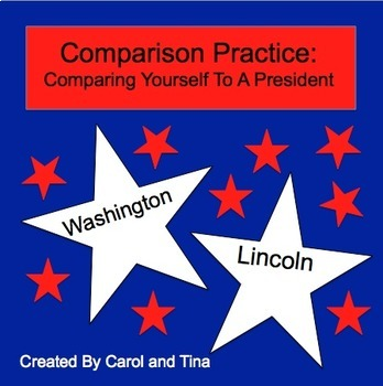 Comparison Practice-Comparing Yourself to a President: Morning Work