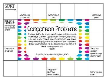 Comparison Problems Game