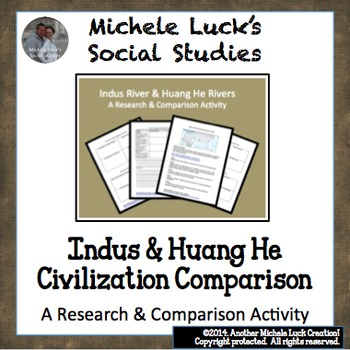 Comparison & Research Activity Indus River & Huang He Yellow River Civilizations