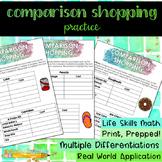 Comparison Shopping Practice