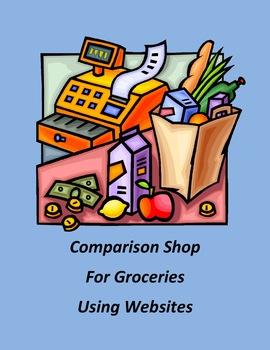 Comparison Shop for Groceries Using Websites