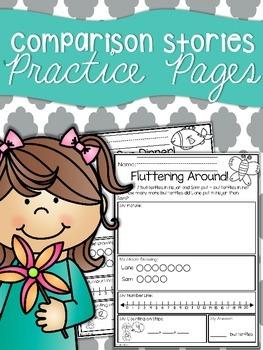 Comparison Story Practice Sheets