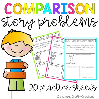 Comparison Story Problems 2.OA.1