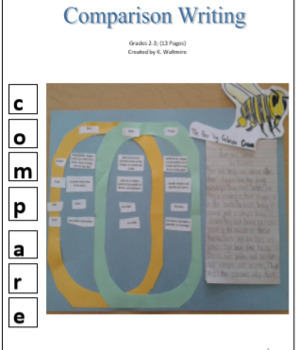 Comparison Writing Grades 2 & 3